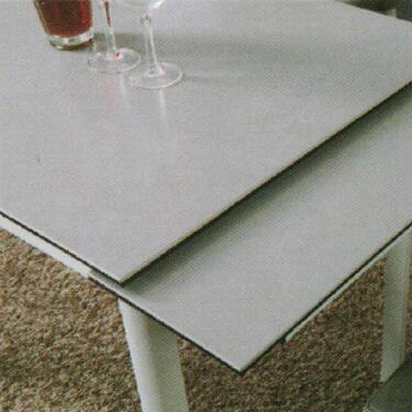Dining Table DT-6830-GW-TR 水泥灰陶瓷玻璃 D2