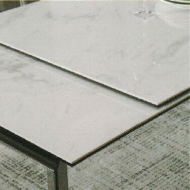 Dining Table DT-1037-TR 爵士白陶瓷玻璃 D1