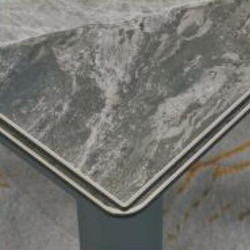 A818-CT 意大利深灰陶瓷玻璃枱 D1