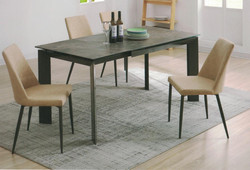 Dining Table DT-1025-TR 意大利陶瓷玻璃 O