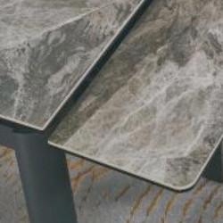 A818-CT 意大利深灰陶瓷玻璃枱 D2