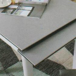 Dining Table DT-3352-TR 水泥灰陶瓷玻璃 D2