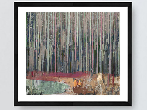 Lake in the Woods - Signed Giclee Print