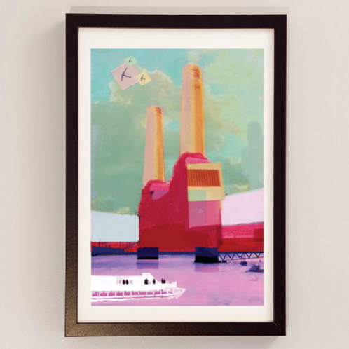 Battersea Power Station - Signed Giclee Print
