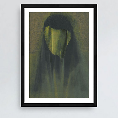 Folio Book of Ghost Stories Signed Giclee Print A4