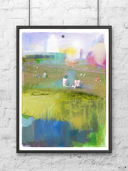 Olympic Park - Signed Giclee Print