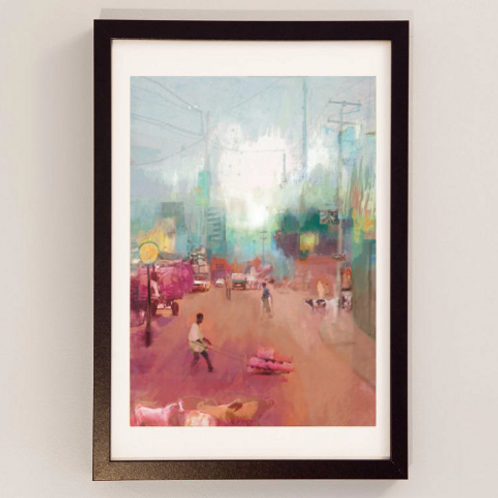 A Letter from Addis Ababa - Signed Giclee Print