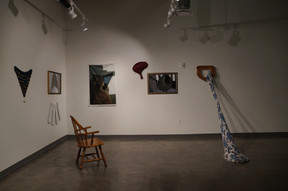 Southern Occupation: a Lady's Guide (installation view)