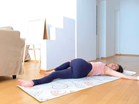 Yin Yoga practice for letting go your fear