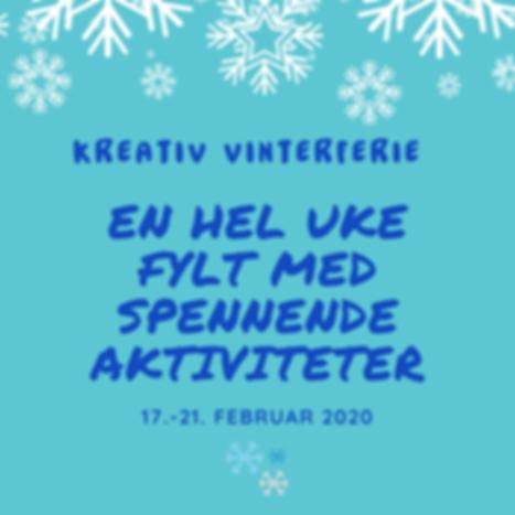 Kreativ Vinterferie