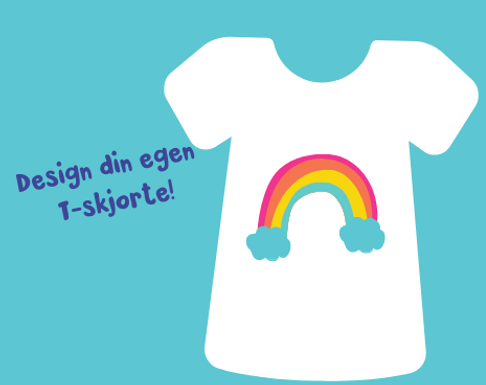 Design din egen t-skjorte
