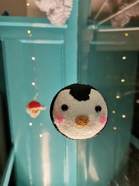 Pingvin med Foam Clay