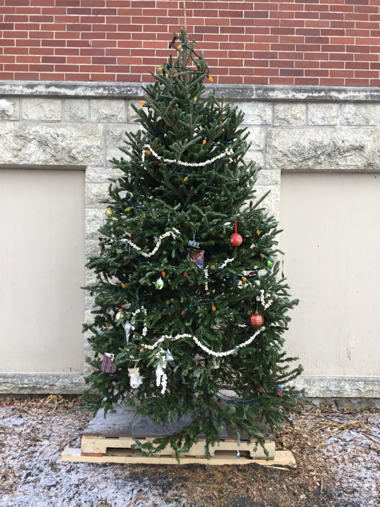 Come one, come all and decorate the community tree in front of The Big Red Church!  Our way of stayi