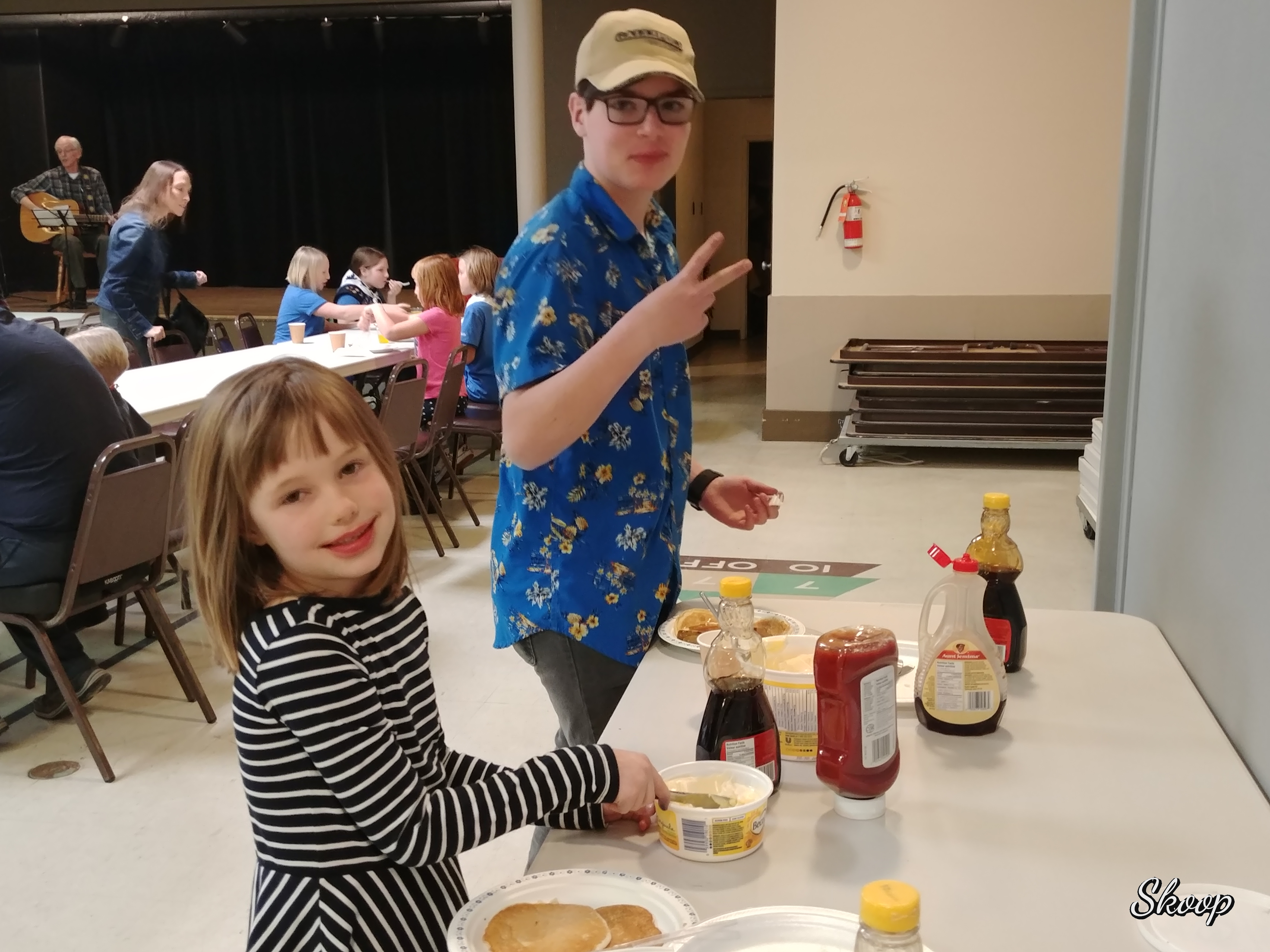 Pancake Supper for Shrove Tuesday