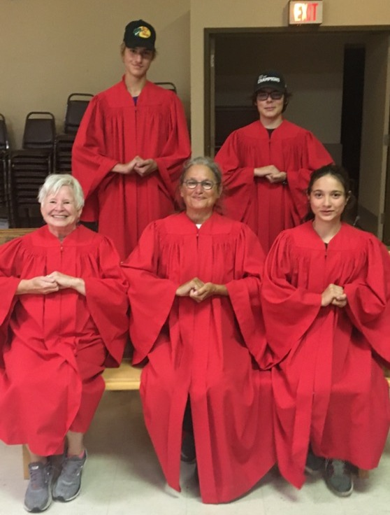 The Green Team Red Robe Choir