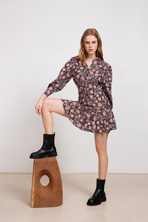vestido jaquard