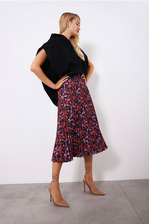 falda plissada imperial