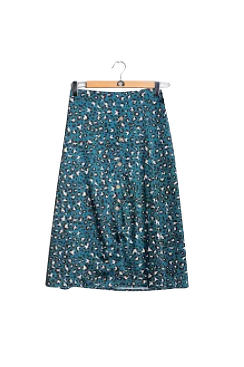 falda stampada