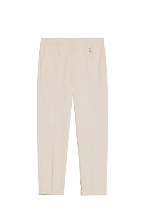 Pantalón crema bielastic