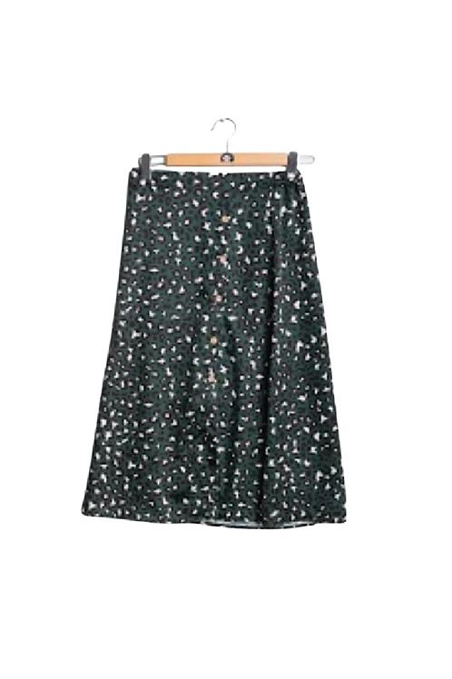 Falda estampada paris