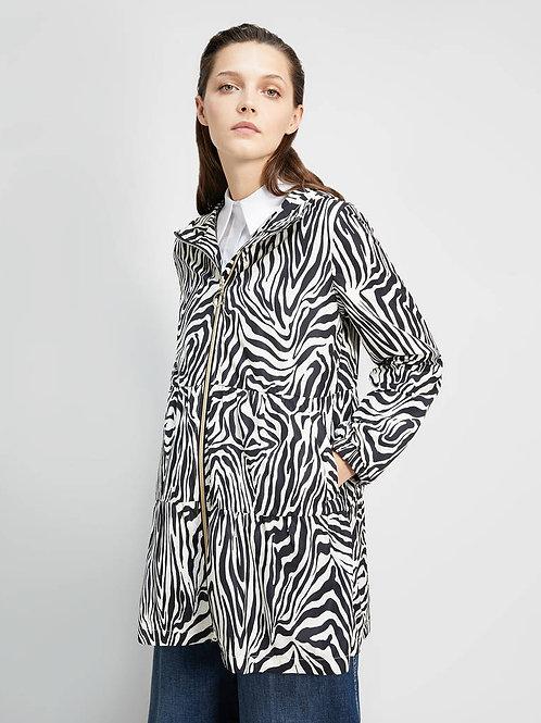 chaqueta zebra print