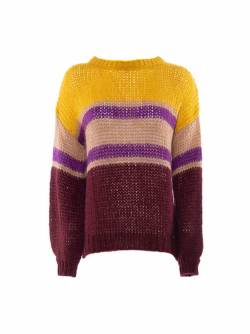 Sweater Yellow Lines