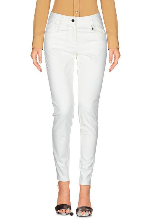 pantalón blanco viscosa