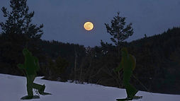 Balade nocturne au coeur des Pyrénées