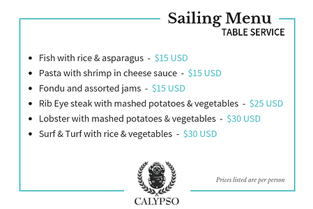 CalypsoCharters-SailingMenu-TableService