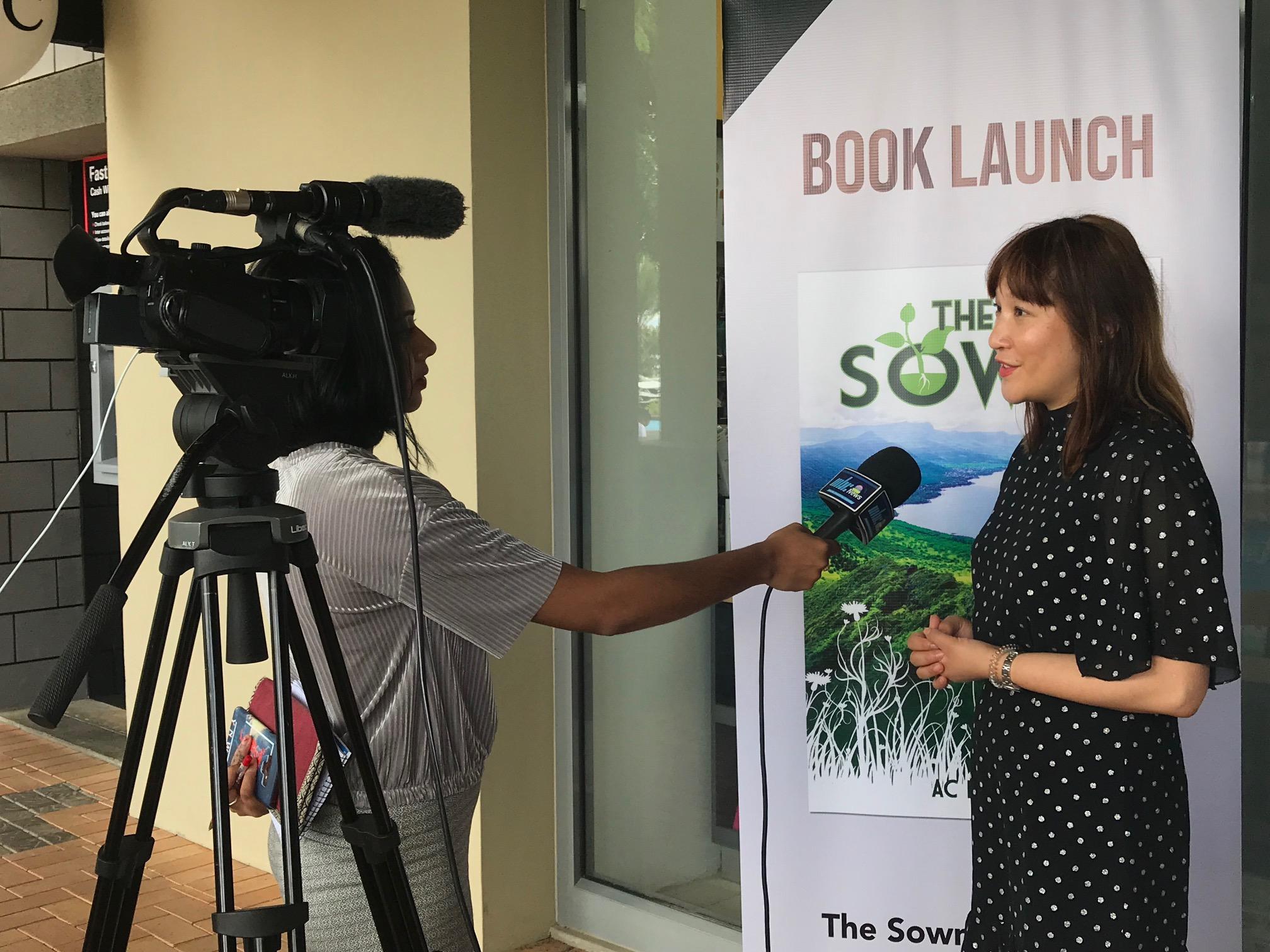 Book Launch in Mauritius