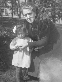 Mariolina and Nonna