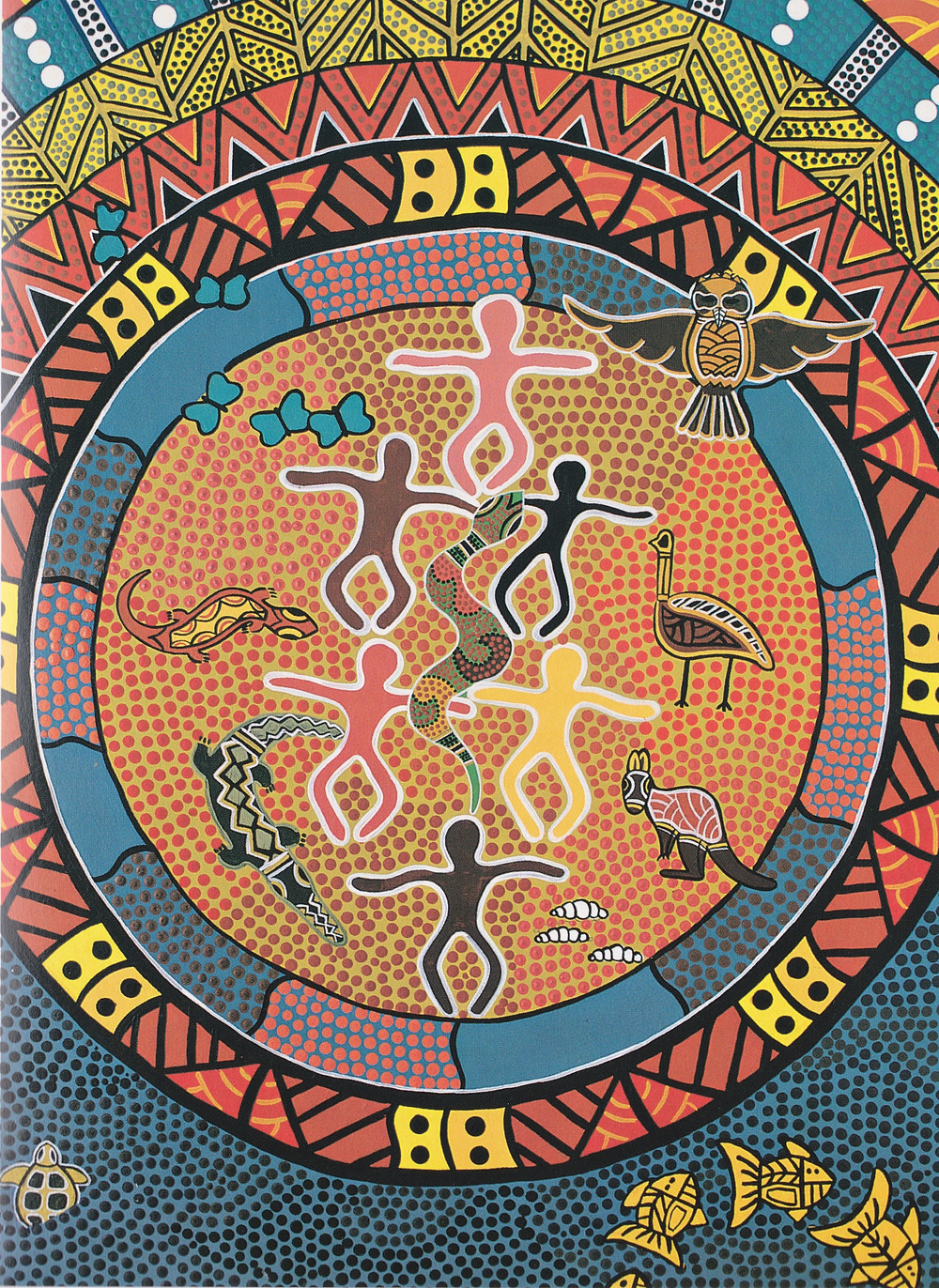 The Rainbow Spirit in Creation  Jasmine Corowa  2000