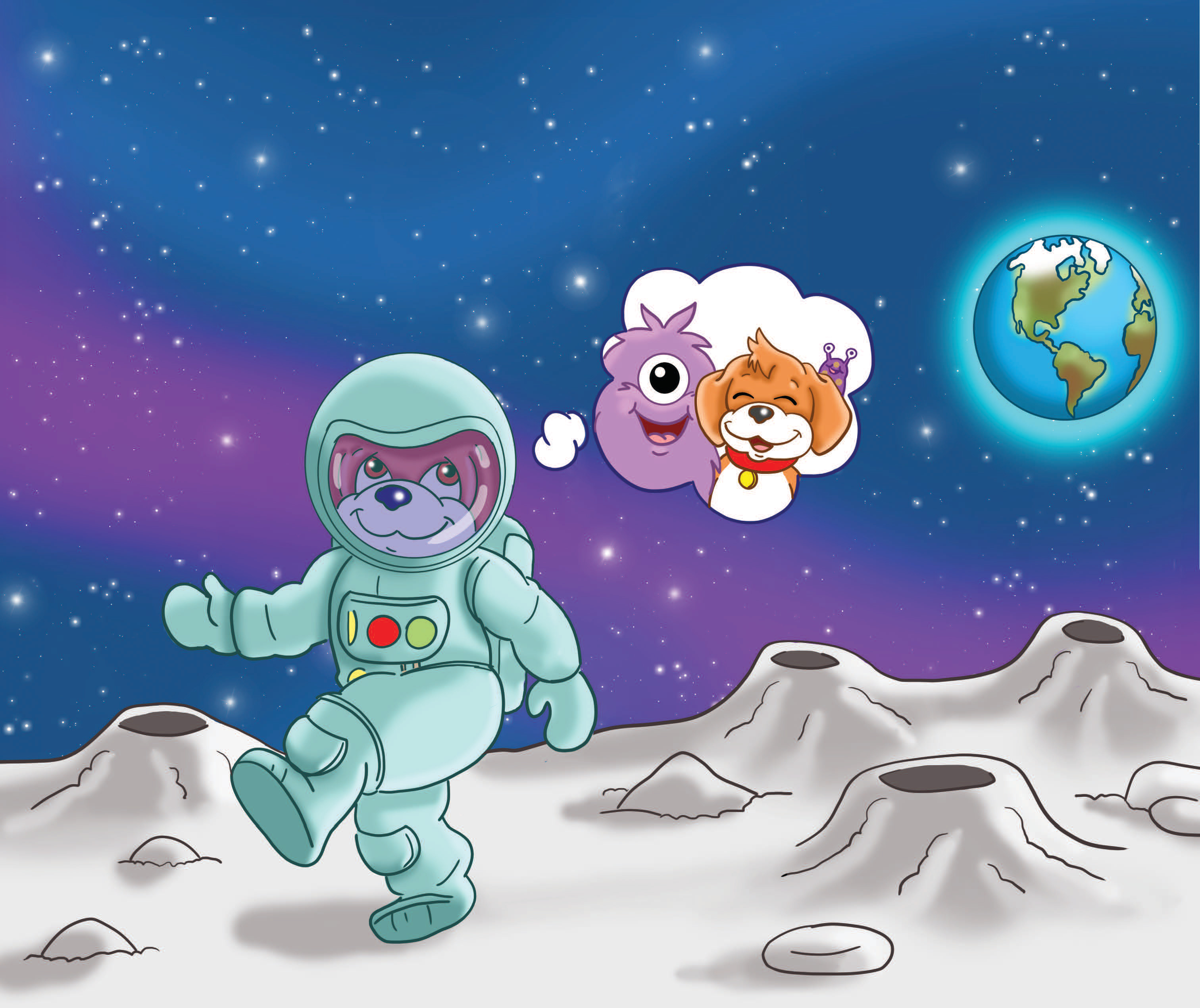 Image from MAISIE'S MOON MISSION