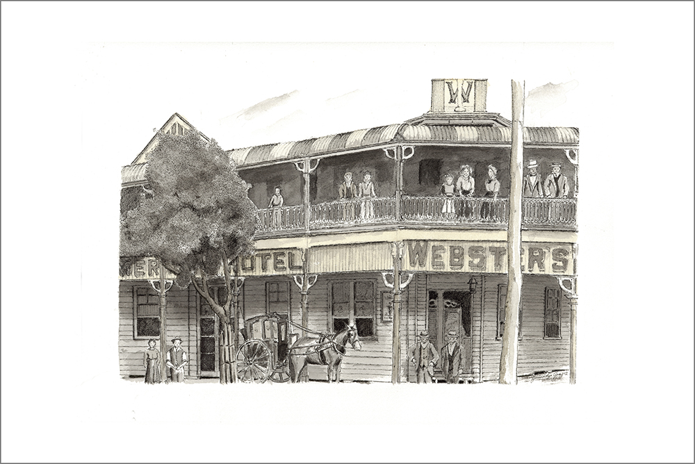 Websters Hotel - Sold