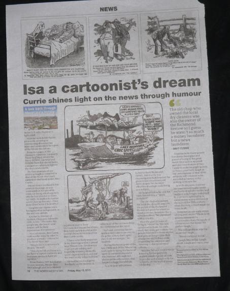 Isa Cartoonist's Dream