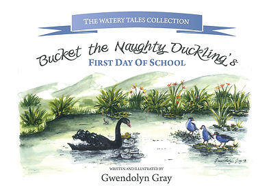 Bucket _ First Day of School_FRONT COVER