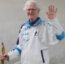 Gerry Couzens, 71 years old, walks every day to improve his health. Destination Better Health