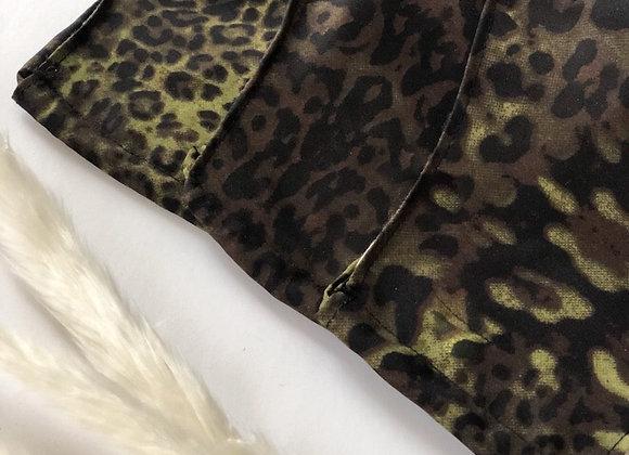 Hunter Leopard Face Mask
