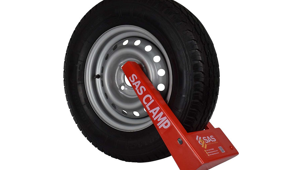 HD1 Wheel Clamp for Steel Wheels in Plastic Case