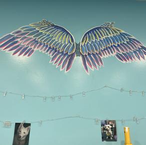 Angel Wing Mural
