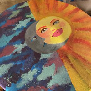 Sun and Moon Table