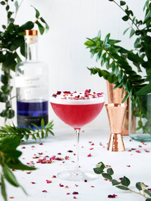 Gin sour | Catching Peelings Photography