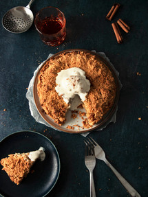 Pear pie | Catching Peelings Photography