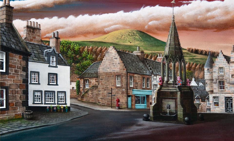 Alan Glasgow Falkland Print (Inverness)
