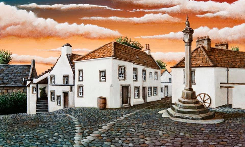 Alan Glasgow Culross Print (Crainsmuir)