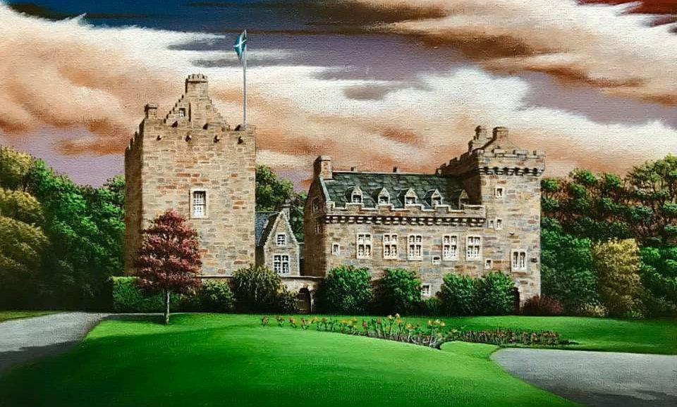 Alan Glasgow Dean Castle Print