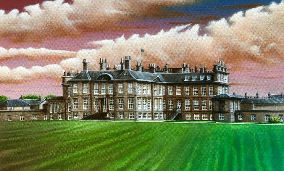 Alan Glasgow Hopetoun House Print