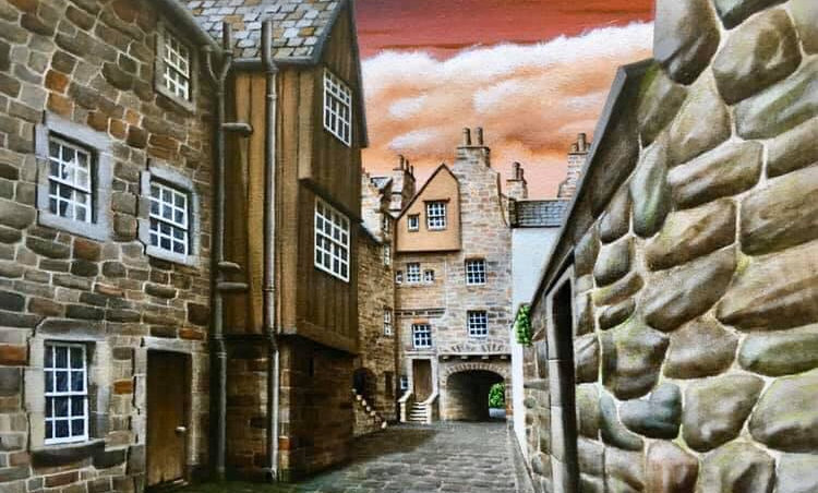 Alan Glasgow Bakehouse Close Print