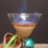 Cirrus Vodka Flaming Gingerbread Martni