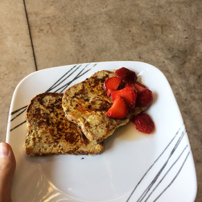 Sharing Content and Protein Packed Pancakes!!!